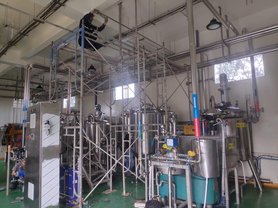 Alphagroup & Vinabeco triển khai thiết kế lắp đặt hệ thống Craftbeer 200 lít tại tập đoàn thủy sản Vĩnh Hoàn