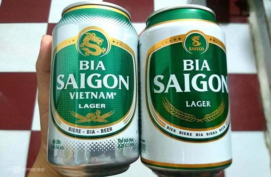 Bia Saigon xuất hiện hàng giả, hàng nhái