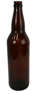 Vỏ chai bia 350 ml màu hổ phách (Hộp 24 chai)